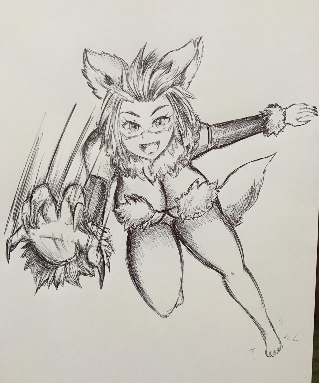 3rd Place - Werewolf Doychan by pikapika212