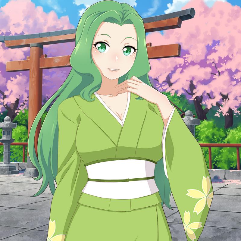 Kimono Raychan